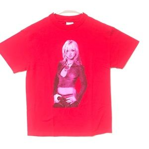 2001 Britney Spears Tour Shirt